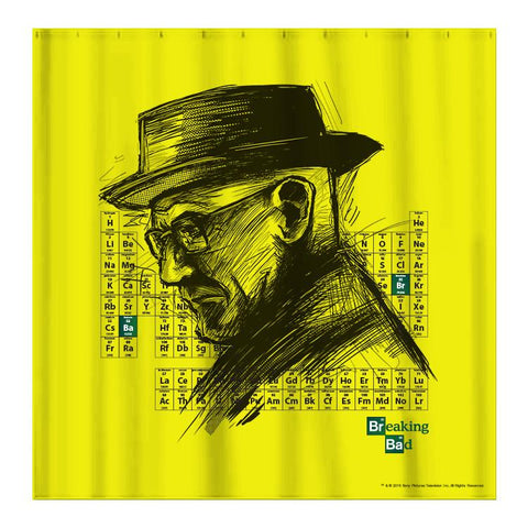Breaking Bad Elements Shower Curtain