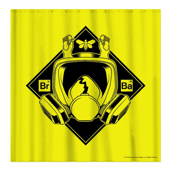 Breaking Bad Mask Shower Curtain