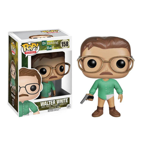 POP TV: Breaking Bad Walter White Pop! Vinyl Figure by Funko