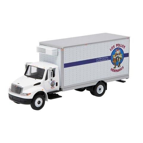 "Breaking Bad 1:64 Scale 2013 International Durastar ""Los Pollos Hermanos"" Box Van"