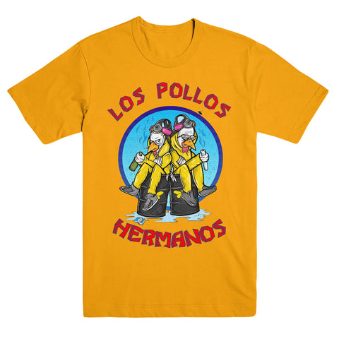 Breaking Bad Los Pollos Hermanos Yellow Tee