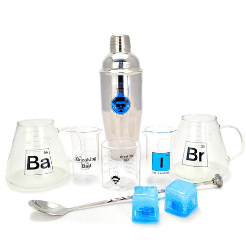 Breaking Bad 10th Anniversary Bar Set
