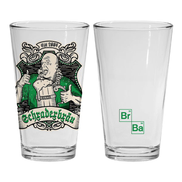 Breaking Bad Schraderbrau Pint Glass
