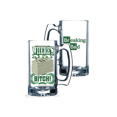 Breaking Bad Where's My Money Beer Mug
