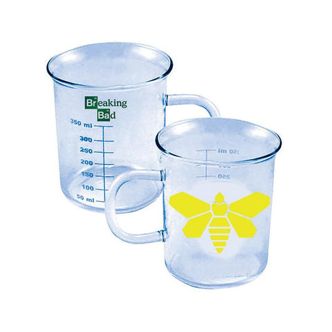 Breaking Bad Yellow Moth Beaker Mug