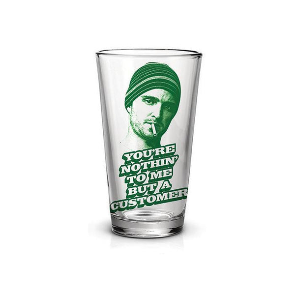 Breaking Bad Jesse Customer Clear Pint Glass