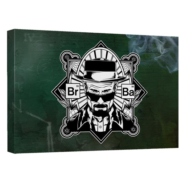 Breaking Bad Heisenberg Canvas Wall Art