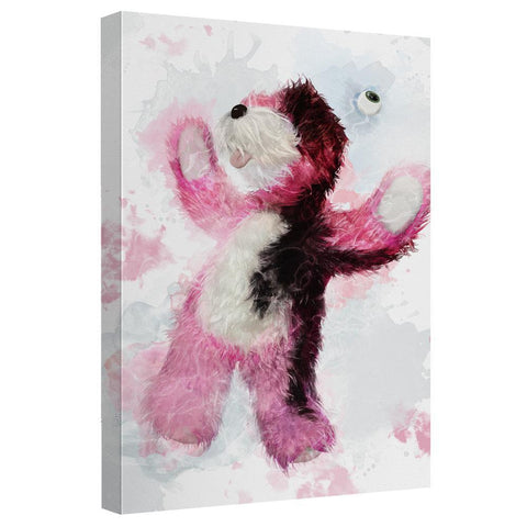 Breaking Bad Pink Bear Canvas Wall Art