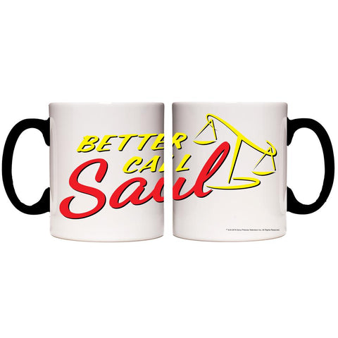 Better Call Saul Logo Transforming Mug