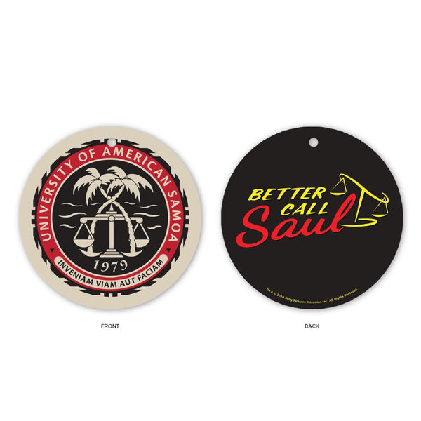 Better Call Saul University of American Samoa Holiday Ornament