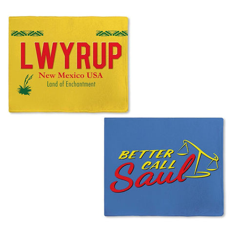 Better Call Saul Logo Fleece Blanket