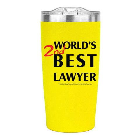 Better Call Saul World's 2nd Best Lawyer Travel Mug