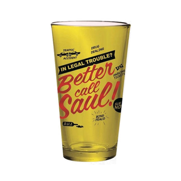 Better Call Saul Pint Glass