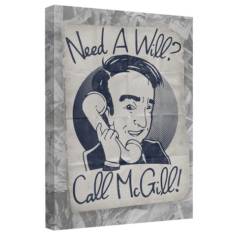 Better Call Saul Need A Will Canvas Wall Art
