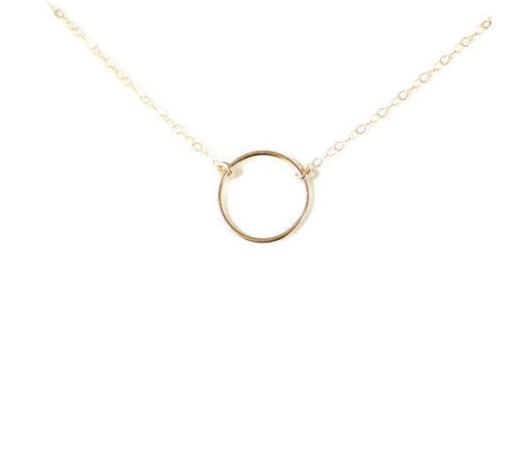 The Karma Circle Necklace (Gold or Silver)