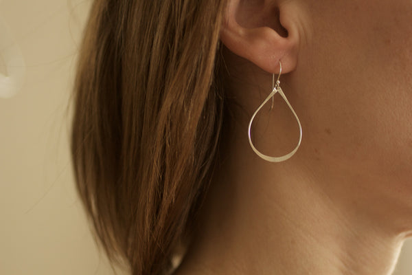 The Joy Teardrop Earrings (Gold or Silver)