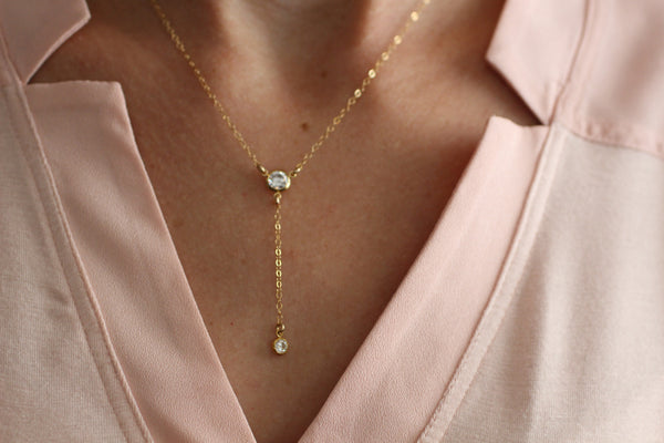 The Annie Lariat Necklace