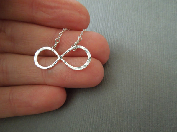 The Forever Infinity Necklace (Gold or Silver)