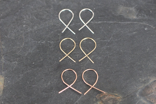 The Eve Loop Earrings (Silver or Gold)