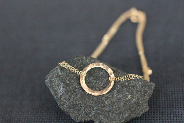 The Karma Circle Bracelet (Gold or Silver)