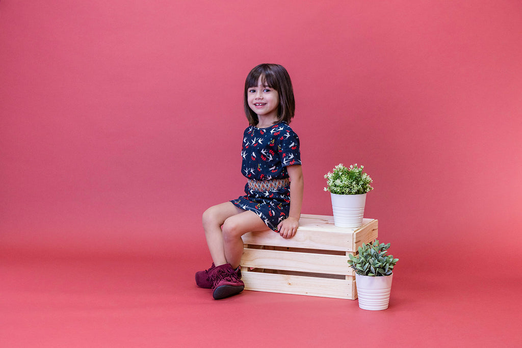 Duchess and Goose Handmade Modern Smocked Girls Clothing