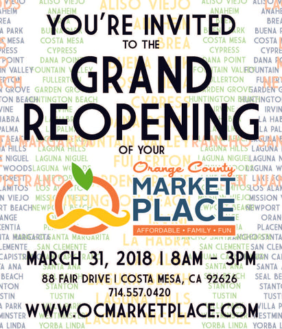 Grand ReOpening Orange County Market Place