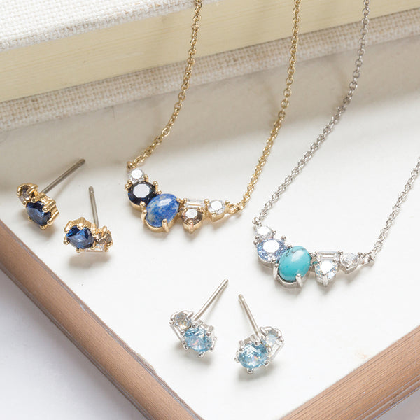 Chloe + Isabel by Rachel Nevarez | Birthstone Necklaces + Earrings for mom