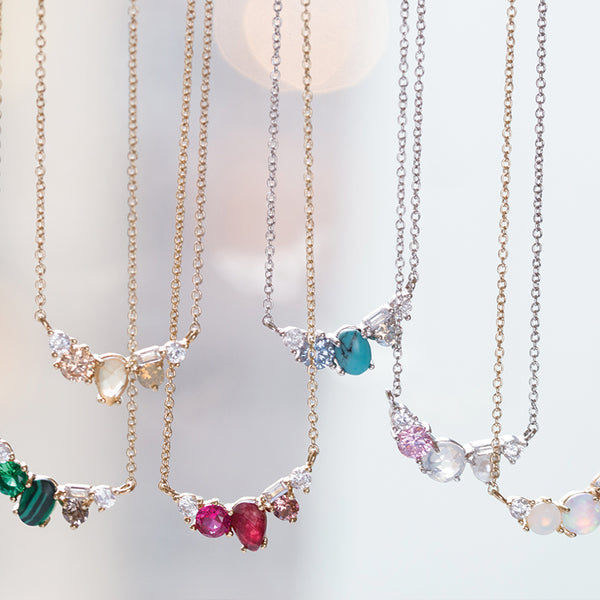 Chloe + Isabel by Rachel Nevarez | Birthstone Necklaces for mom