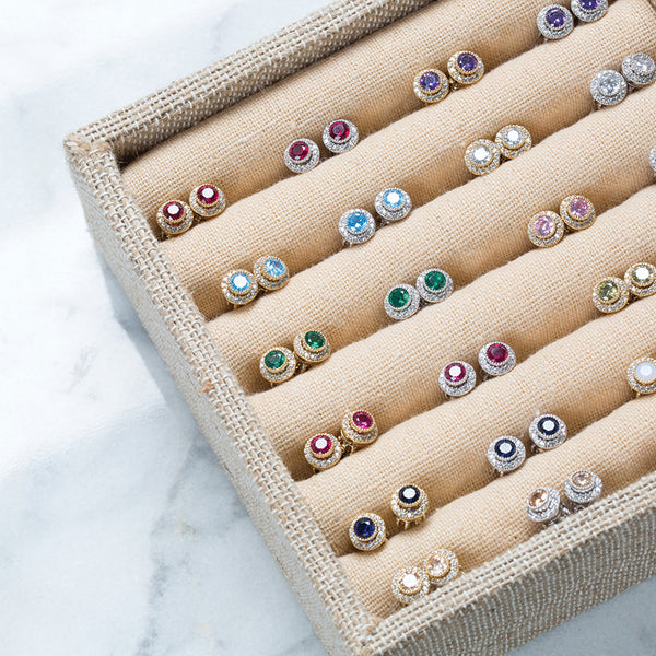 Chloe + Isabel by Rachel Nevarez | Convertible Birthstone Stud Earrings | Gifts for mom