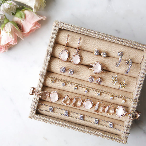 Chloe + Isabel Rose gold jewelry box