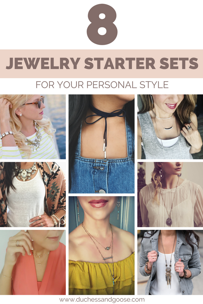 8 jewelry starter sets for your personal style | Chloe + Isabel by Rachel