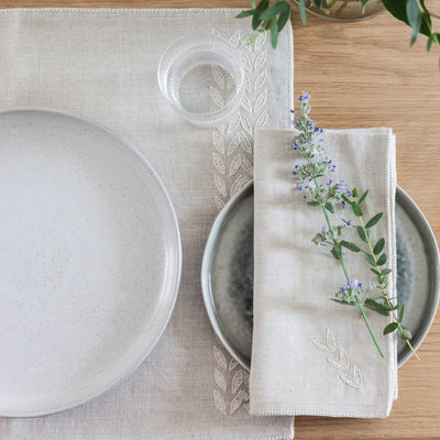 Modern Handcrafted Home Decor and Table Linens by Artha Collections