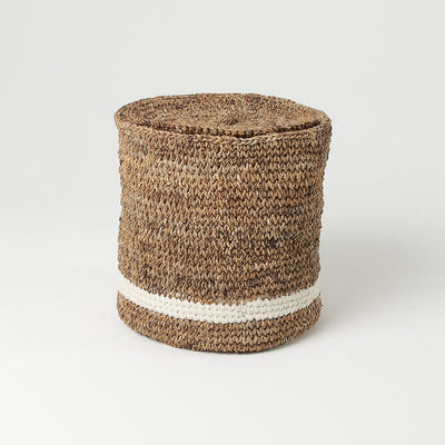 Round Blanket Basket for Home by Artha Collections
