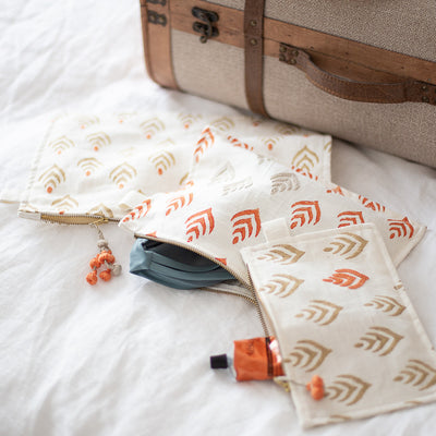 Travel Essentials - Pouches by Artha Collections