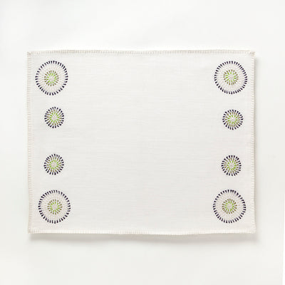 Hand Embroidered Placemat by Artha Collections