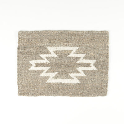 Handwoven Diamond Rug by Artha Collection