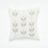 CYP - Petal Three Row Throw Pillow - Blue