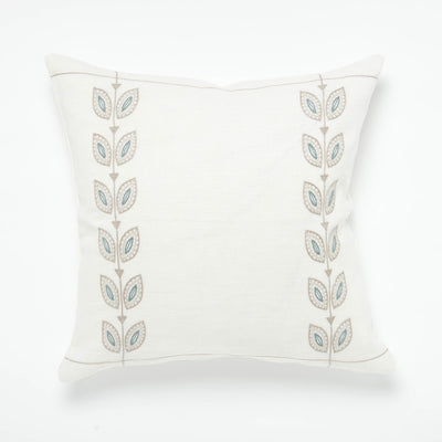CYP - Petal Throw Pillow - Blue
