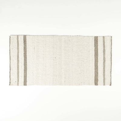 Striped Karakul Rug for Home by Artha Collections