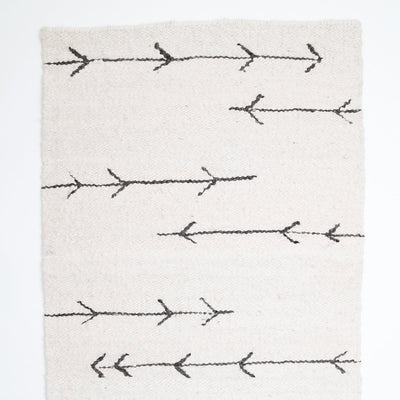 Handwoven Arrow Rug by Artha Collections