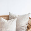 Beige Petal Tone in Tone Throw Pillow Series - Set of 4 (Actual Value CHF 330)