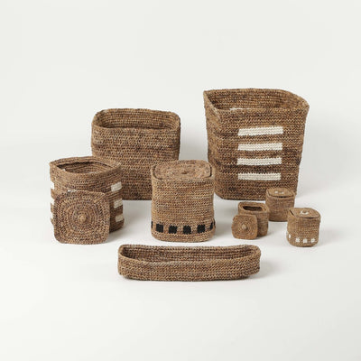 Sustainable Home Decor and Woven Baskets by Artha Collections