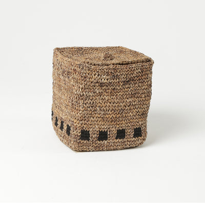 Woven Storage Baskets by Artha Collections