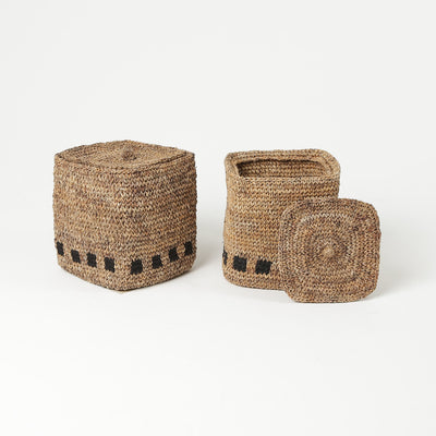 Handwoven Basket for Storage by Artha Collections