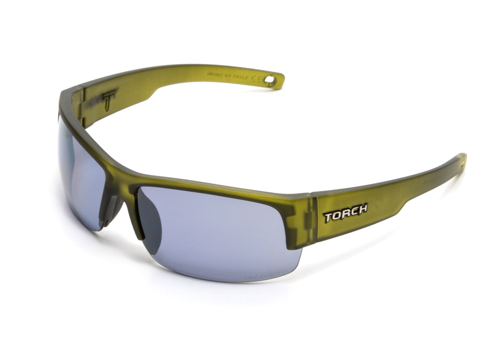 Devan - Matte Olive - Polarized Air Silver