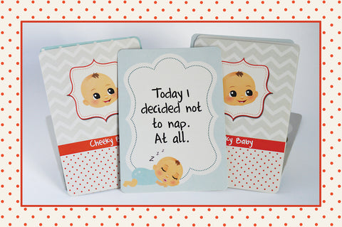 cheeky baby cards social media cards that tell the truth