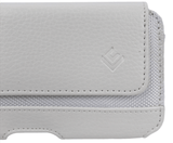 Triple White Leather iPhone Holster