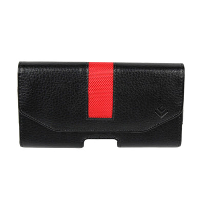 Stripe Bred Leather iPhone Holster