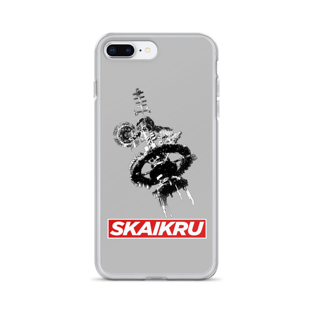 Skaikru Gray & Red iPhone 7/8 Plus Case