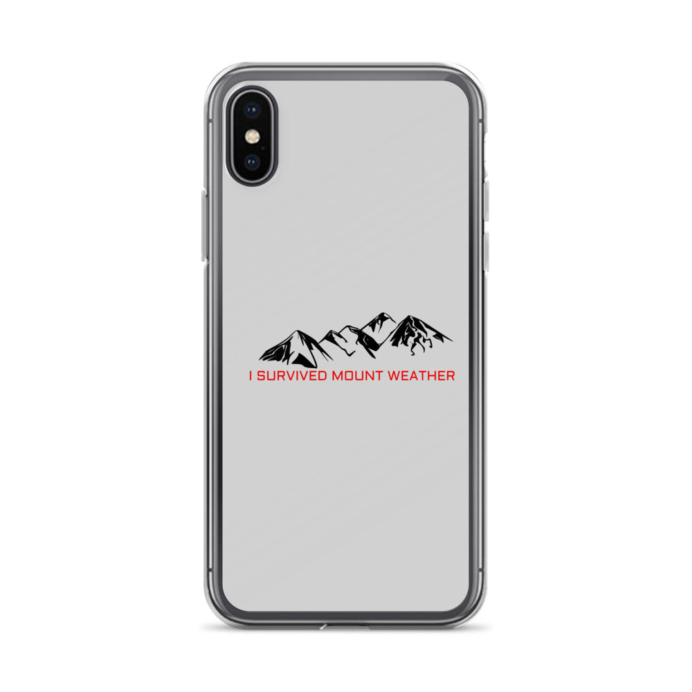 The 100 Mount Weather iPhone X Case